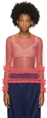 Molly Goddard Pink Ed Blouse