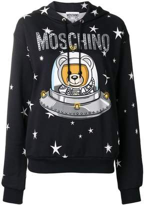 Moschino Space Teddy hoodie
