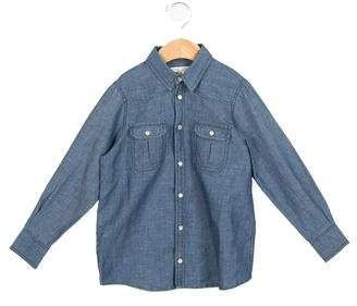 Marie Chantal Girls' Denim Button-Up Shirt w/ Tags