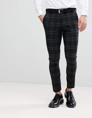 ONLY & SONS Skinny Suit Pants In Check