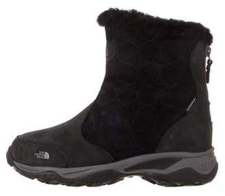 The North Face Suede Round-Toe Boots
