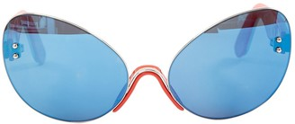 Marco De Vincenzo Multicolour Plastic Sunglasses
