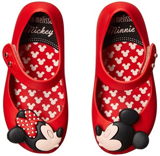 Mini Melissa - Ultragirl + Disney Twins Girl's Shoes $65 thestylecure.com