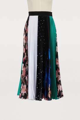MSGM Long pleated skirt