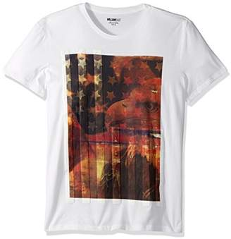 William Rast Men's United Eagle Graphic Tee