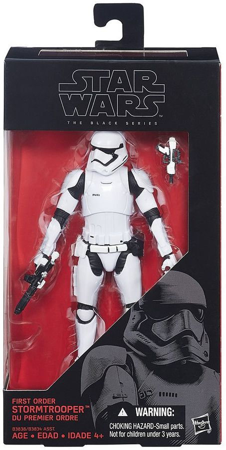 Hasbro Star Wars: Episode VII The Force Awakens The Black Series 6-in. First Order Stormtrooper Figure by Hasbro