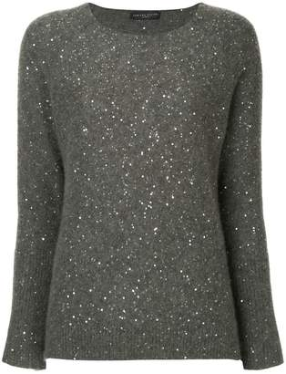 Fabiana Filippi sequined knit sweater