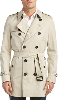 Burberry Kensington Mid Length Heritage Trench Coat