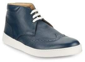 Bugatchi Wingtip High-Top Sneakers