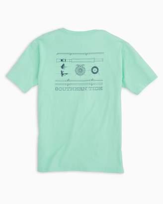 Fly London Southern Tide Fishing T-shirt