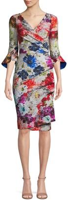 Chiara Boni Floral-Print Sheath Dress