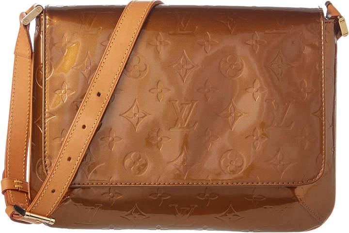 Louis Vuitton Bronze Monogram Vernis Leather Thompson Street