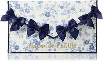 Maison de Fleur (メゾン ド フルール) - [メゾン ド フルール] 更紗柄マスクケース 81181JC0610 154 ブルー
