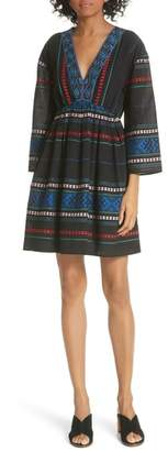 Joie Sada Embroidered Minidress