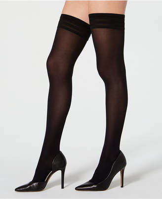 Wolford Velvet De Luxe 50 Stay-Up Thigh-High Hosiery