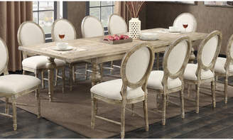 Lark Manor Montreal Butterfly Leaf Dining Table