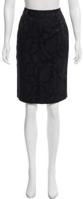 Emporio Armani Jacquard Knee-Length Skirt