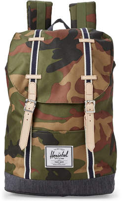 Herschel Camo Retreat Laptop Backpack