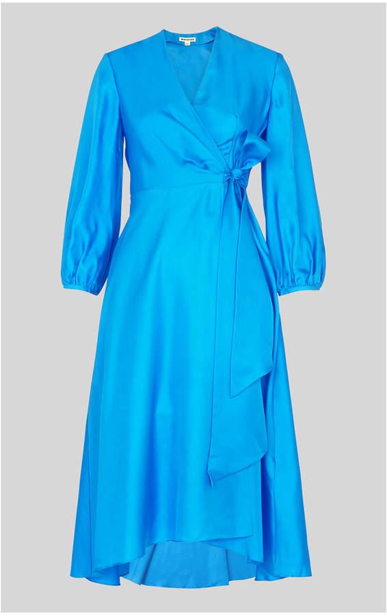 Callie Silk Wrap Dress