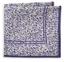 hook + ALBERT Floral Silk Pocket Square