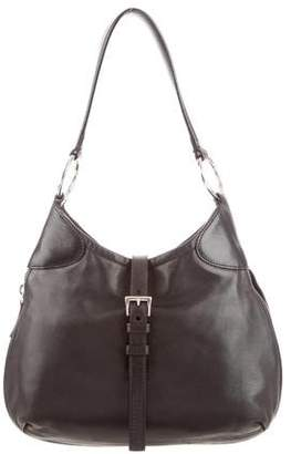 Prada Nappa Zipper Hobo