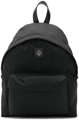 Golden Goose logo detail backpack