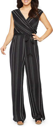 S.O.H.O New York Short Sleeve Belted Jumpsuit