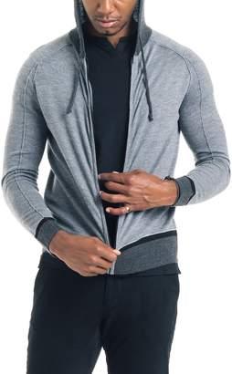 Good Man Brand Modern Slim Fit Merino Wool Hoodie