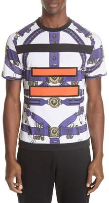Versace Safety Pin Harness T-Shirt