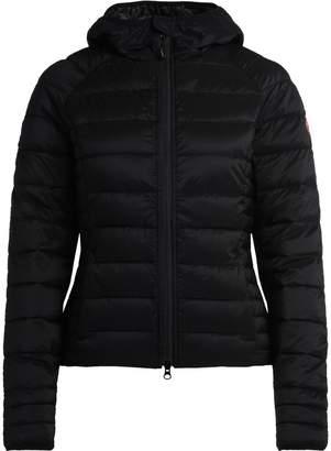 Canada Goose Brookvale Black Fabric Down Jacket With Hood