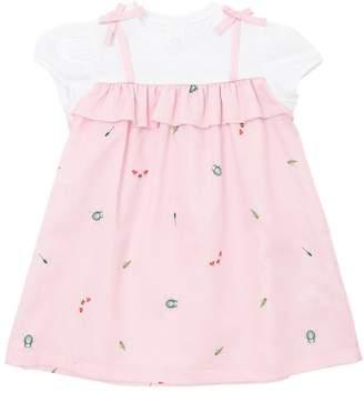 Il Gufo Stretch Cotton Poplin & Jersey Dress