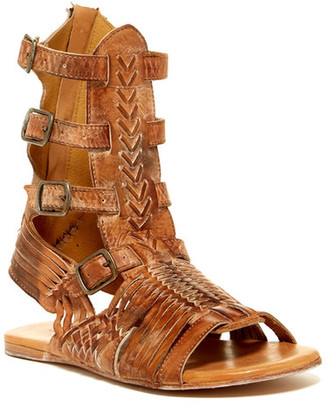 Bed Stu Aurelia Leather Gladiator Sandal $155 thestylecure.com