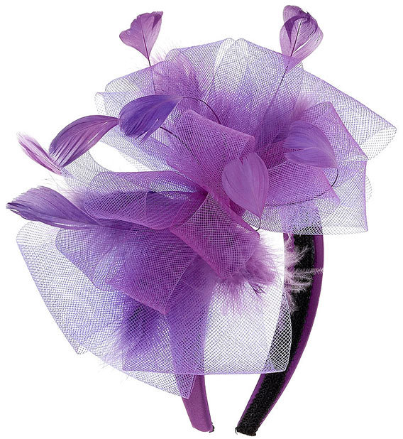 Dorothy Perkins Bow and Feather Fascinator