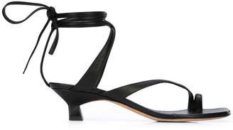 Derek Lam Sirene Strappy Ankle-Wrap Sandal