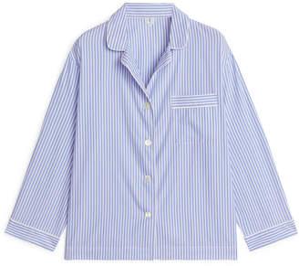 Womens Blue Striped Pyjamas - ShopStyle UK b04235890