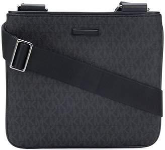 Michael Kors flat messenger bag