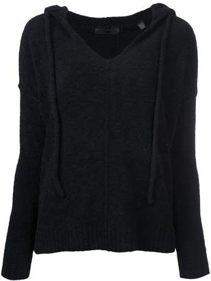 ATM Anthony Thomas Melillo boho hooded jumper