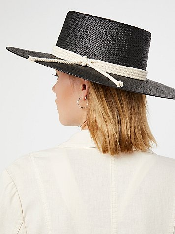 Garden Grove Straw Boater by Free People