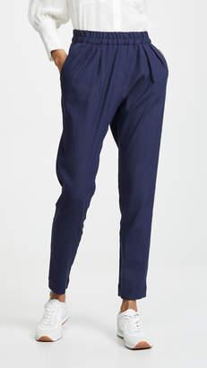 MAISON KITSUNÉ Jena Linen Casual Pants