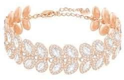 Swarovski Baron Crystal Leaf Bracelet