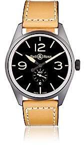 Bell & Ross Men's BR 123 Heritage Watch - Black