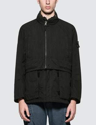 Stone Island Shadow Project Black Divided Field Jacket