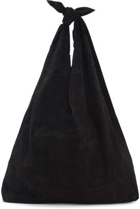 The Row Black Bindle Tote