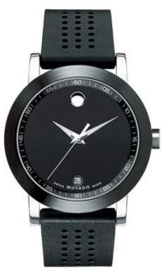 Movado Museum Sport Rubber Mens Watch 0606507