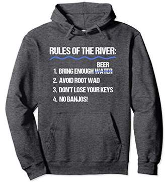 Float Trip Hoodie Funny Rules Of The River