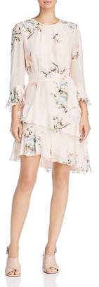 Joie Kayane Silk Floral Print Dress