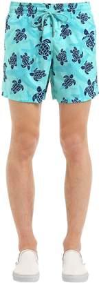 Vilebrequin Moorea Sea Turtles Print Swim Shorts