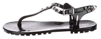 DSQUARED2 Studded Thong Sandals