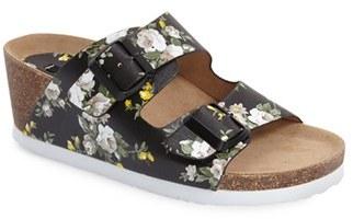 kensie 'Wenda' Wedge Slide Sandal (Women) $78.95 thestylecure.com