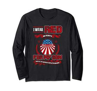 Red Friday Military Shirts- Red Fridays Long Sleeve T-shirt